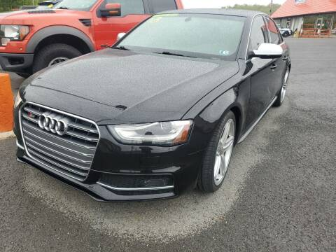 2013 Audi S4 for sale at Mulligan's Auto Exchange LLC in Paxinos PA