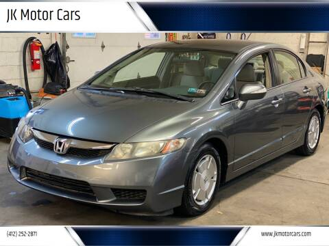 2009 Honda Civic for sale at JK Motor Cars in Pittsburgh PA