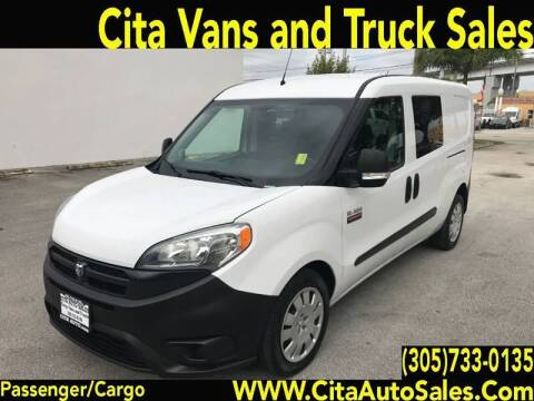2016 RAM ProMaster City Cargo for sale at Cita Auto Sales in Medley FL