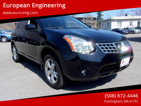 2009 Nissan Rogue for sale at European Engineering in Framingham MA