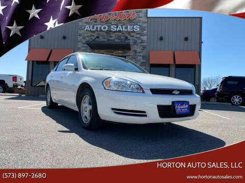 2007 Chevrolet Impala for sale at HORTON AUTO SALES, LLC in Linn MO