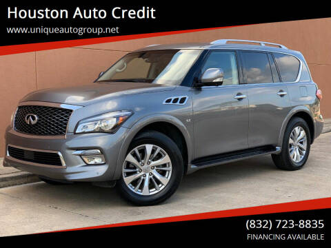 2016 Infiniti QX80 for sale at Houston Auto Credit in Houston TX