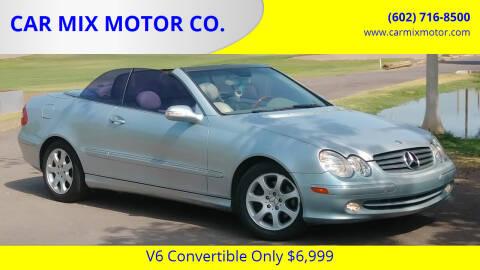2005 Mercedes-Benz CLK for sale at CAR MIX MOTOR CO. in Phoenix AZ