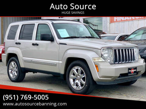 2008 Jeep Liberty for sale at Auto Source in Banning CA