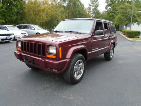 2001 Jeep Cherokee for sale at Triangle Auto Sales in Elgin IL