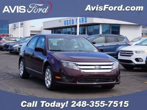 2011 Ford Fusion for sale at Work With Me Dave in Southfield MI