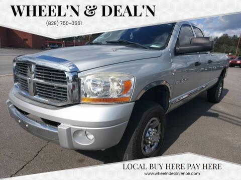 2006 Dodge Ram Pickup 2500 for sale at Wheel'n & Deal'n in Lenoir NC