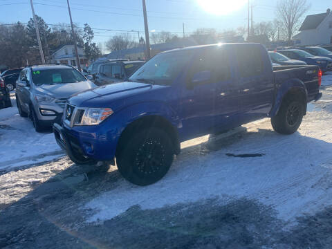 2013 Nissan Frontier for sale at PAPERLAND MOTORS in Green Bay WI
