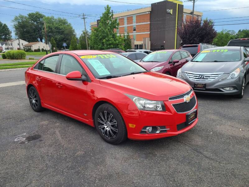 2012 Chevrolet Cruze for sale at Costas Auto Gallery in Rahway NJ