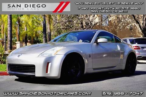 2003 Nissan 350Z for sale at San Diego Motor Cars LLC in San Diego CA