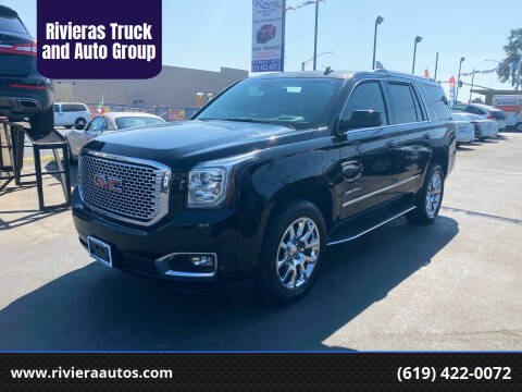 2015 GMC Yukon for sale at Rivieras Truck and Auto Group in Chula Vista CA