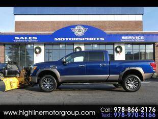 2016 Nissan Titan XD for sale at Highline Group Motorsports in Lowell MA