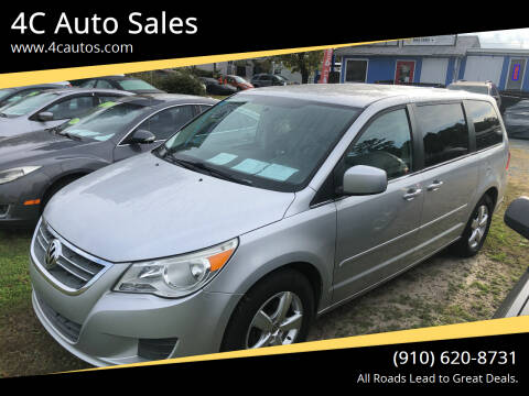 2010 Volkswagen Routan for sale at 4C Auto Sales in Wilmington NC