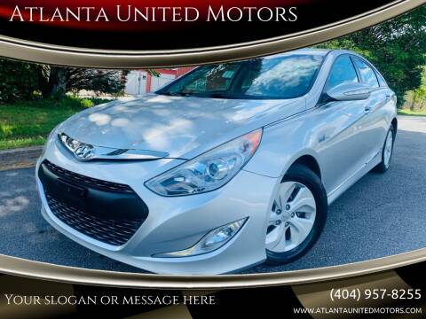 2013 Hyundai Sonata Hybrid for sale at Atlanta United Motors in Buford GA