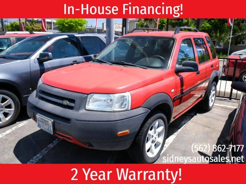 2003 Land Rover Freelander for sale in Downey, CA