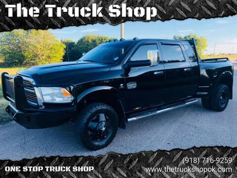2012 RAM Ram Pickup 3500 for sale at The Truck Shop in Okemah OK