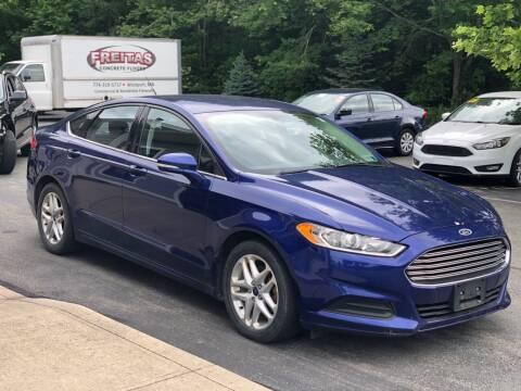 2014 Ford Fusion for sale at Elite Auto Sales in North Dartmouth MA