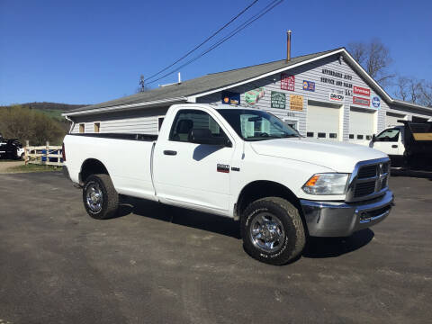 2012 RAM Ram Pickup 2500 for sale at AFFORDABLE AUTO SVC & SALES in Bath NY