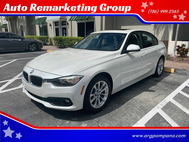 2017 BMW 3 Series for sale at Auto Remarketing Group in Pompano Beach FL