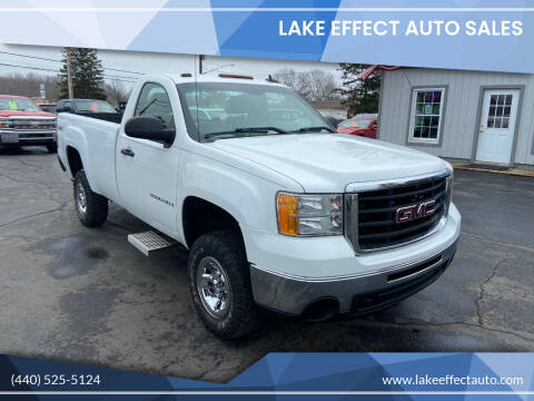 2008 GMC Sierra 3500HD for sale at Lake Effect Auto Sales in Chardon OH