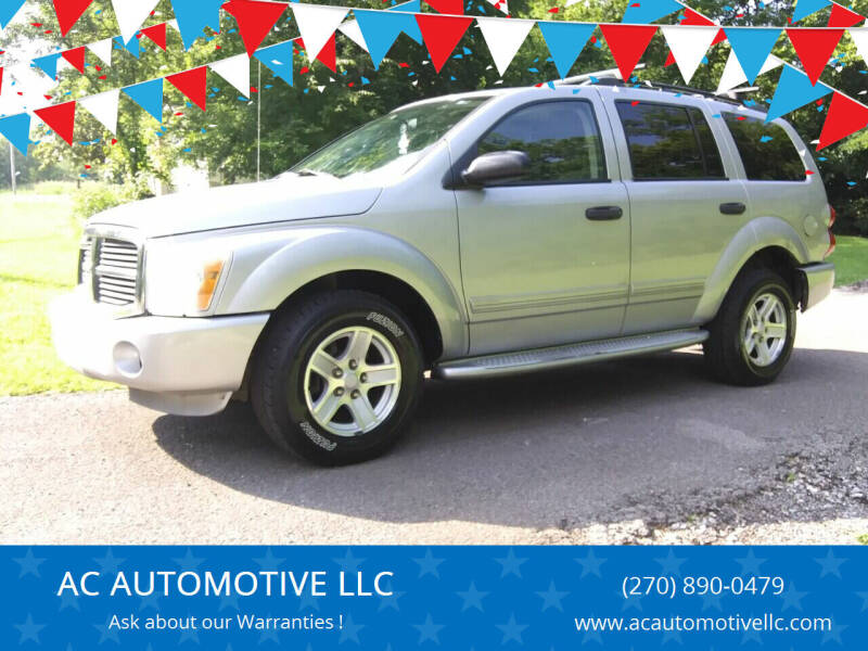 2004 Dodge Durango for sale at AC AUTOMOTIVE LLC in Hopkinsville KY