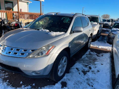 2004 Nissan Murano for sale at PYRAMID MOTORS - Fountain Lot in Fountain CO