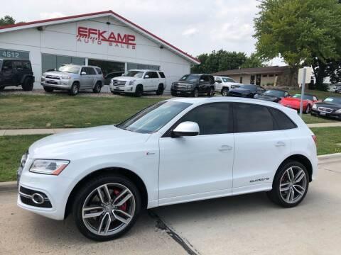 2016 Audi SQ5 for sale at Efkamp Auto Sales LLC in Des Moines IA