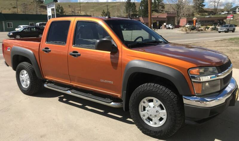 2005 Chevrolet Colorado for sale at Central City Auto West in Lewistown MT