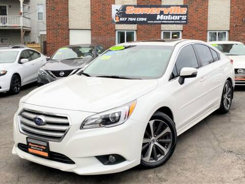 2016 Subaru Legacy for sale at Somerville Motors in Somerville MA