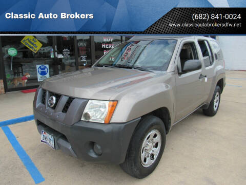 2007 Nissan Xterra for sale at Classic Auto Brokers in Haltom City TX