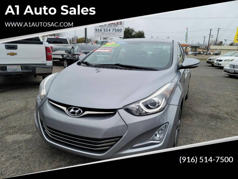 2014 Hyundai Elantra for sale at A1 Auto Sales in Sacramento CA