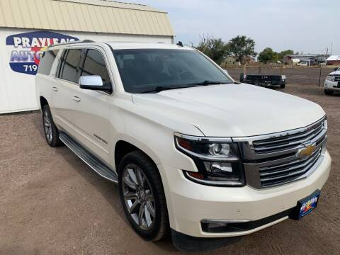 2015 Chevrolet Suburban for sale at Praylea's Auto Sales in Peyton CO