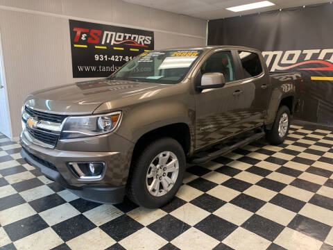 2016 Chevrolet Colorado for sale at T & S Motors in Ardmore TN
