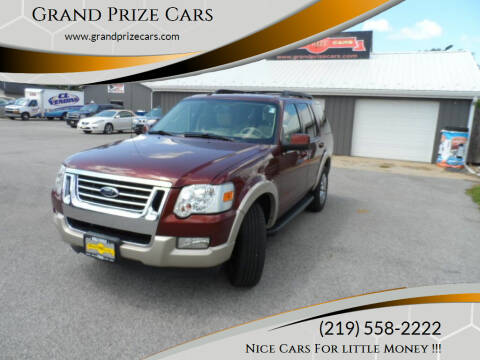 2010 Ford Explorer for sale at Grand Prize Cars in Cedar Lake IN