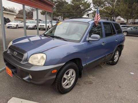 2001 Hyundai Santa Fe for sale at Progressive Auto Sales in Twin Falls ID