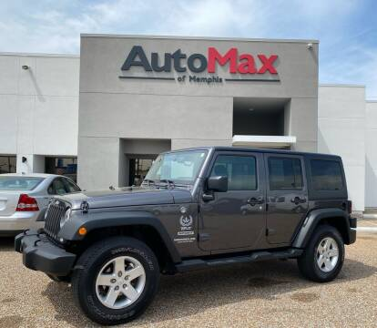 2017 Jeep Wrangler Unlimited for sale at AutoMax of Memphis in Memphis TN