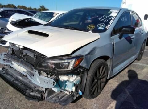 2019 Subaru WRX for sale at STS Automotive - Miami, FL in Miami FL