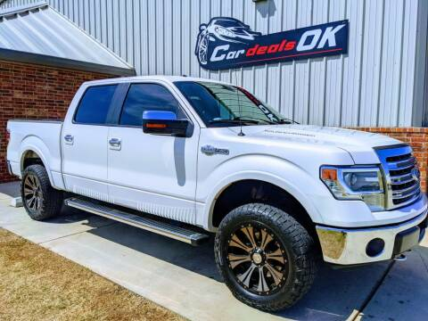 2014 Ford F-150 for sale at Car Deals OK in Oklahoma City OK