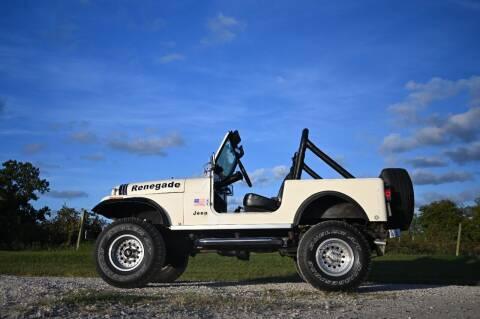 1982 Jeep CJ-7 for sale at McQueen Classics in Lewes DE