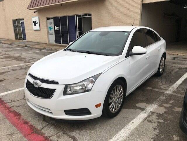 2014 Chevrolet Cruze for sale at Reliable Auto Sales in Plano TX
