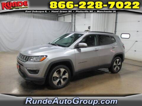 2017 Jeep Compass for sale at Runde Chevrolet in East Dubuque IL