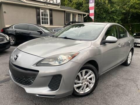 2012 Mazda MAZDA3 for sale at Regal Auto Sales in Marietta GA