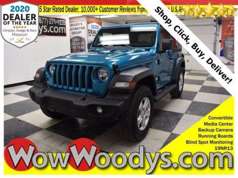 2019 Jeep Wrangler for sale at WOODY'S AUTOMOTIVE GROUP in Chillicothe MO