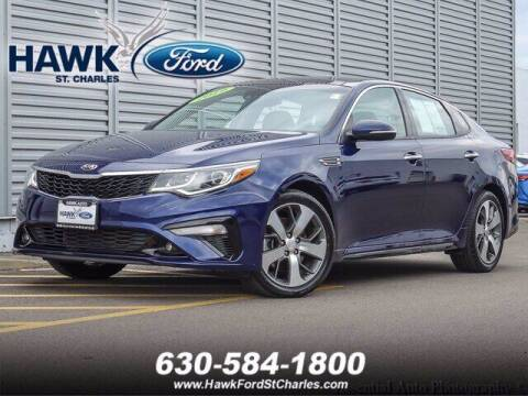 2019 Kia Optima for sale at Hawk Ford of St. Charles in Saint Charles IL