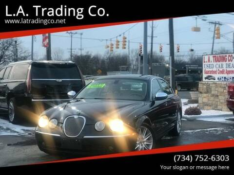 2007 Jaguar S-Type for sale at L.A. Trading Co. in Woodhaven MI