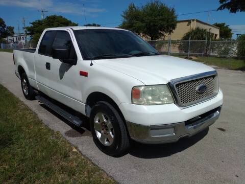 2007 Ford F-150 for sale at LAND & SEA BROKERS INC in Pompano Beach FL
