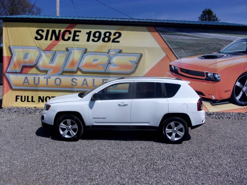 2016 Jeep Compass for sale at Pyles Auto Sales in Kittanning PA