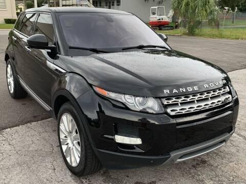 2014 Land Rover Range Rover Evoque for sale at Consumer Auto Credit in Tampa FL