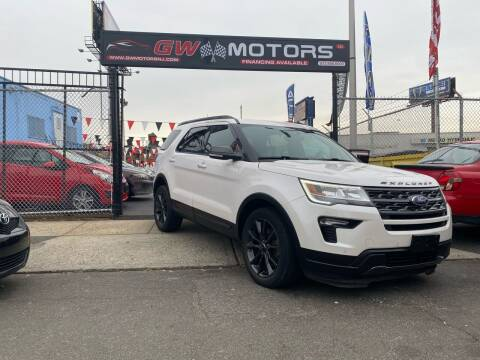 2018 Ford Explorer for sale at GW MOTORS in Newark NJ