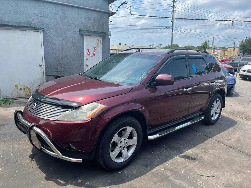 2005 Nissan Murano for sale at P J Auto Trading Inc in Orlando FL